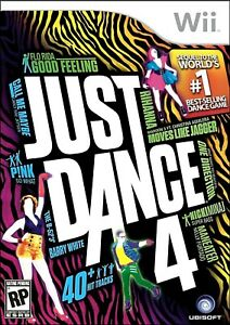 Just Dance 4 - Nintendo  Wii Game