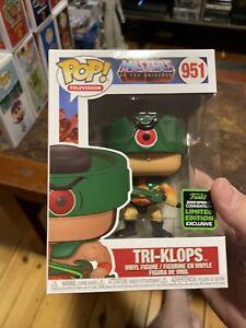 Funko Pop! Animation: Masters of the Universe - Tri-Klops Vinyl Figure (Emerald
