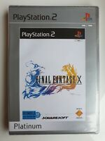 Final Fantasy X (PS2) - Platinum (Francais Edition) [New & Sealed]