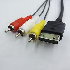 1.8m/6ft  RCA AV A/V for Sega Dreamcast Stereo Composite Video TV Adapter Cable