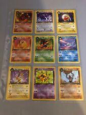 Pokemon Team Rocket 1st Edition MINT Complete Uncommon Set 24 cards