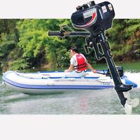 3.5PS Außenborder 2-Takt Benzinmotor Bootsmotor Fischerboot Wasserkühlung Motor