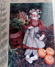 "Katies Homespun Stitches 21"" Fall primitive doll craft pattern rag grunge"