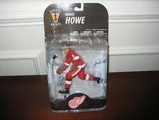 MCFARLANE NHL LEGENDS 7 GORDIE HOWE VINTAGE HOCKEY RED JERSEY DETROIT RED WINGS