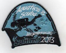 2013 National Jamboree Promo Tent Patch Series, Aquatics & Scuba, Mint!