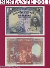 # SPAIN / SPAGNA - 1000 1.000 PESETAS 15.08. 1928 - P 78 - QFDS / AUNC