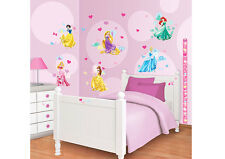 Wandsticker Kit für Kinderzimmer Disney Princess 41455 Walltastic