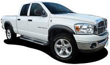 FENDER FLARES DODGE RAM 02-08 1500 03-09 2500 3500 NEW MATT BLACK FINISH
