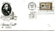 1140 Benjamin Franklin, Credo, ArtCraft, FDC