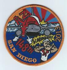 148th Fighter Squadron San Diego Deployment 2013 F-16 patch