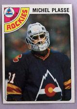 1978 - 1979 Topps Michel Plasse Colorado Rockies #36 Hockey Card LOT OF 2 NM-MT