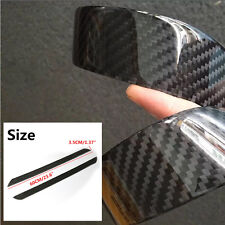 HOT 2x Carbon Fiber Car Scuff Plate Door Sill Guard Cover Step Protector 60CM