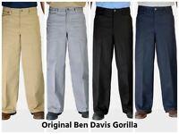 Ben Davis Authentic Gorilla style Baggy Classic Pants for Men wide leg