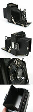GOERZ TENAX OUTFIT D.R.P. PLATE CAMERA W/ ACCESSORIES