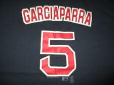 Lee Sport Label NOMAR GARCIAPARRA No. 5 BOSTON RED SOX (2XL) T-Shirt Jersey BLUE