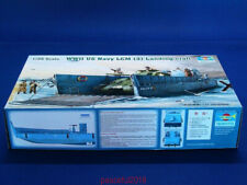 Trumpeter 1/35 Scale Model Boat Kit WWII US Navy LCM (3) Landing Craft 00347