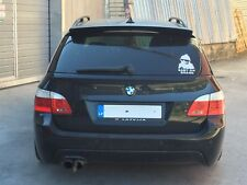 POUR BMW E61 Touring Performance aérodynamique toit Spoiler Trunk Lip Boot Cover