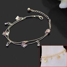 Charm Gold Butterfly Ankle Chain Anklet Bracelet Women Foot Jewelry Sandal Beach
