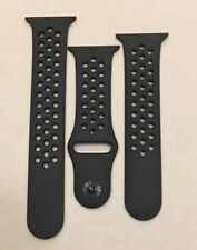 Genuine Apple Watch Band - 38mm Nike Sport Band - Anthracite/Black - S/M and M/L