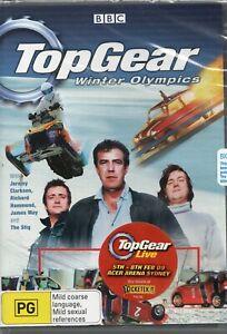 TOP GEAR: WINTER OLYMPICS. Brand New/Sealed. R4 DVD