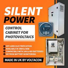 Voltacon Silent Power 5kW OFF GRID Control Armadietto INVERTER CARICABATTERIE tutto in uno
