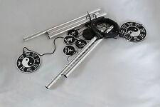 """30"""" Feng Shui Bagua 5 Elements 5 Rods Love Harmony Good Luck Metal Wind Chime"""