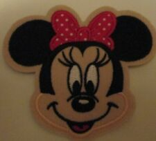 MINNIE MOUSE EMBROIDERED PATCH SEW/IRON ON BRAND NEW ~USA SELLER~