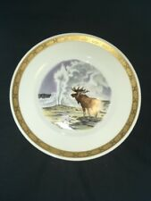 "Royal Copenhagen The National Parks of America Yellowstone 8 3/4"" Plate"