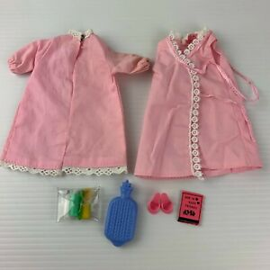 Vintage Palitoy Tressy Beauty Sleep Outfit Complete + Accessories
