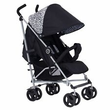 My Babiie MB02 From Birth Baby Stroller / Buggy - Black Leopard