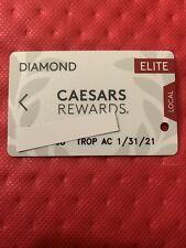 Caesars Rewards Diamond Elite Card Expires 01/2021 Tropicana Ac©�2020
