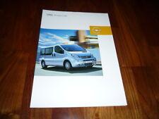 Opel Vivaro Life prospectus 01/2005