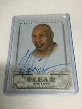 2017 Leaf Metal Sports Heroes MIKE TYSON Silver 23/25 Sportkings Auto Autograph