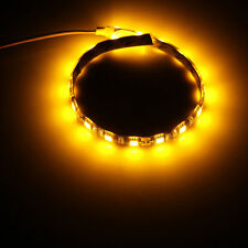 DC12V Black PCB 300 LED Strip Light 5M Waterproof 5050 SMD car DRL DIY tape lamp