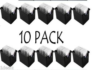 Plastic Sugar Packet Holder Caddy 10 PACK BLACK BRAND NEW FEDEX SHIPPING FREE!