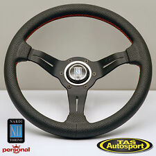 Genuine Nardi Steering Wheel DEEP CORN Perforated Leather 330mm 6069.33.2093