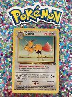 ⭐️ Pokemon 1999 Dodrio Jungle Set Nintendo Wizards WotC 1st Gen Vintage Card 🎏