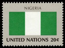 """UNITED NATIONS 389 - Flags of the World """"Nigeria"""" (pf88571)"""