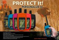 Garmin Alpha 100 Protective Cover Heavy Duty Flexible Silicone Custom Case