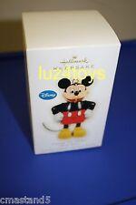 2009 Hallmark Disney Vintage Tin Mickey Mouse Ornament New in Box