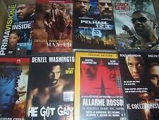 LOTTO 20 DVD DENZEL WASHINGTON  HE GOT GAME  MALCOLM X IL RAPPORTO PELICAN