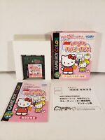 Hello Kitty no Happy House Nintendo Game Boy Color GBC Japan Import Complete CIB