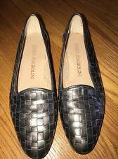 ENZO ANGIOLINI Leather Clogs Mary Jane Ballet Flat Loafers Shoes Women Sz 7 #