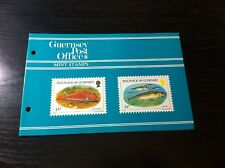 NEW - 1985 - GUERNSEY PRESENTATION PACK - FISH OF THE BAILIWICK