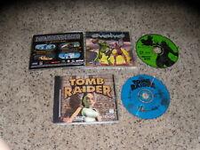Evolvo & Tomb Raider - PC Games Excellent Condition