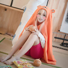 Anime Himouto! Umaru-chan Role Playing Blanket Quilt Cloak Hoodie Flannel Coat