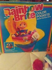 1983 Mattel Rainbow Brite Color Pockets Bed For Rainbow Brite Plus Doll