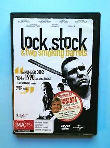 Lock, Stock & Two Smoking Barrels 🎬 DVD Region 2,4 PAL 🎬