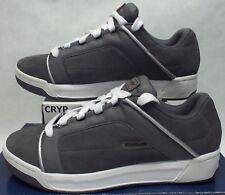 New Mens 10.5 REEBOK RBK Tegus Grey White Leather Skate Shoes