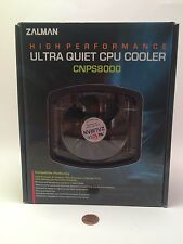 Zalman CPU Cooler CNPS8000 Ultra Quiet CPU Cooler NEW